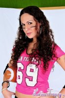 Nicole montero. Excited Football tgirl Nikki