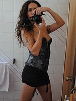 Nicole montero mirror mirror. Libidinous shemale making photos of herself