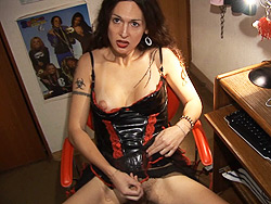 Nicole montero movie. Lascivious tranny jerking off her juicy penish