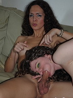 Nicole and sabrina deep. Petite shemale Nicole getting her