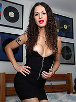Nicole montero black dress. Irresistible Nicole Montero seducing with her beauty