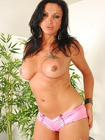Monica. Hot tranny Monica posing her perfect body and cruel dick