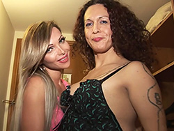Nikki montero and carla novaes. Exciting Carla & Nikki make love each other