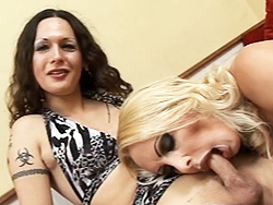 Ts desperate housewives  amazing ts nicole getting blowed by alison. Amazing TS Nicole getting blowed by Alison