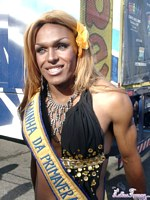 Gay parade in rio de janeiro 2nd part. Nikki With The Trannies On The Streets Of Rio de Janeiro